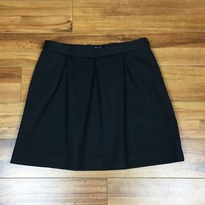 Madewell Journal Mini Skirt in Charcoal size 4